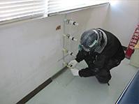 自動式低圧エポキシ樹脂注入工法 エポキシ樹脂注入