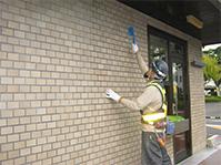 特殊アクリル樹脂系塗膜防水・保護工法 タイル洗浄
