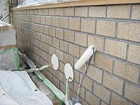 特殊アクリル樹脂系塗膜防水・保護工法 JKトップ塗布(上塗り2回目)